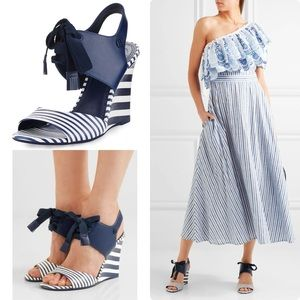 Tory Burch Maritime Wedge Sandal